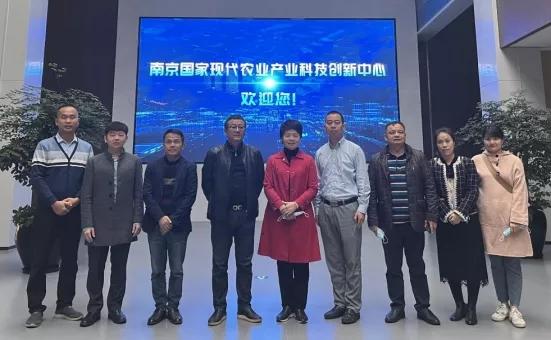 广西玉林市农业农村局党组书记、局长倪惠宽率队到访国家功能农业科技创新联盟